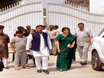 Samajwadi Party Chief Akhilesh Yadav Bjp Uses Row Over Bungalow To