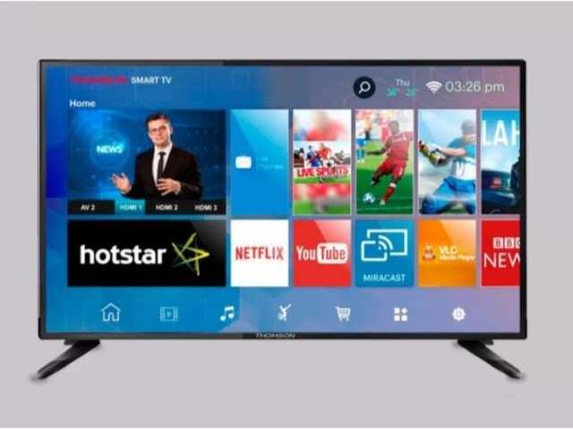 Thomson LED Smart TV B9 Pro to go sale on Flipkart today at 12PM