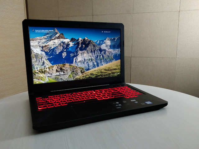 Asus TUF Gaming FX 504 review: Gets your job done | Gadgets Now