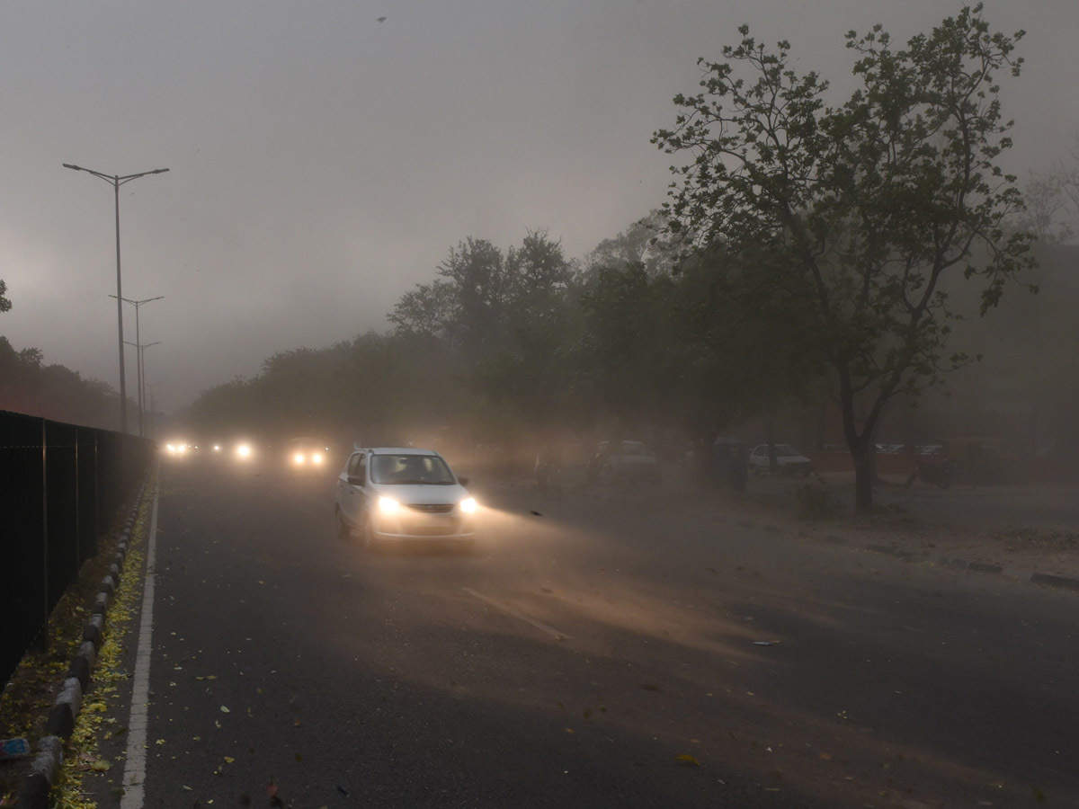 Dusty weather grounds all flights in Chandigarh, Haryana issues advisory |  India News - Times of India