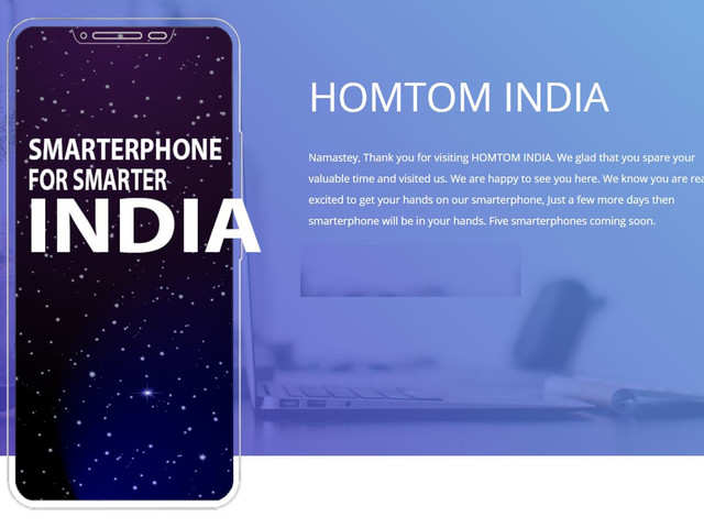 It said that initially it plans to launch five smartphones in the country at a starting price of Rs 8,000.