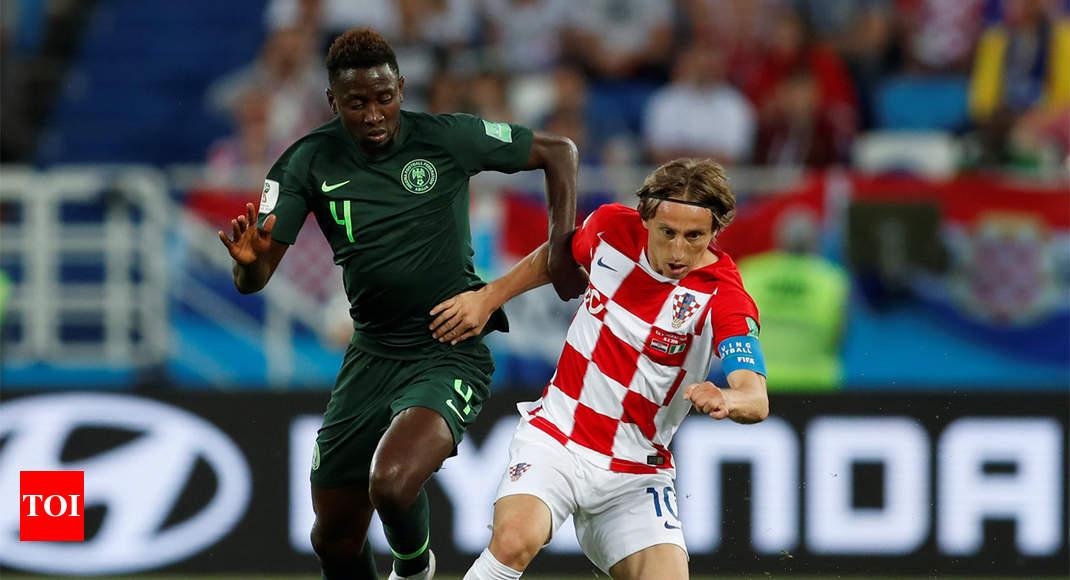 621c91325 FIFA World Cup 2018  Croatia beat Nigeria 2-0