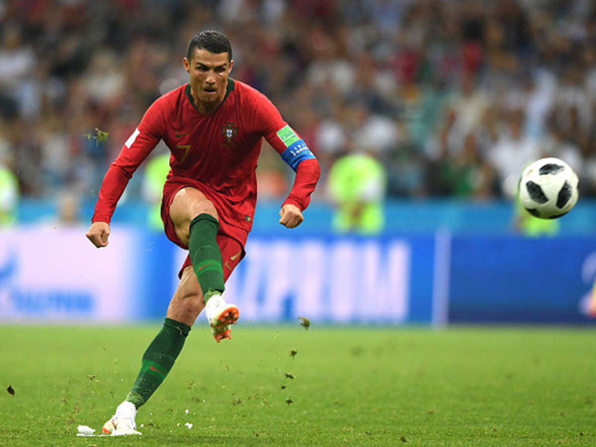 Fifa World Cup Cristiano Ronaldo S Freekick That Shook The World Football News Times Of India