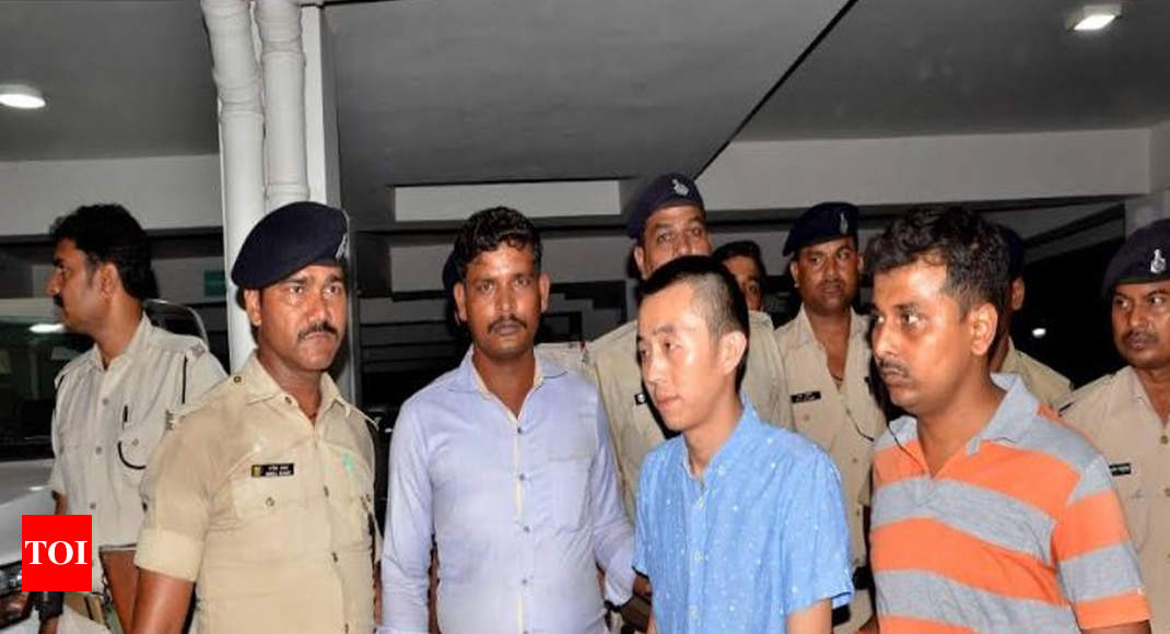 Chinese national arrested in Patna for violation of prohibition