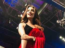 Sayantika was a guest judge at a dance reality show