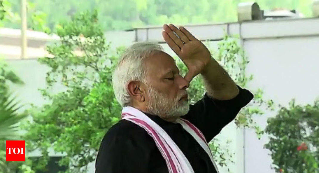 Yoga ensures wellness, peace of mind: PM Modi