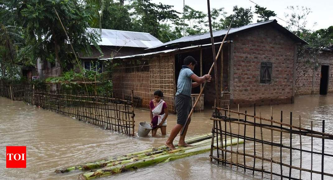 Assam flood toll mounts to 11, over 5 lakh people affected
