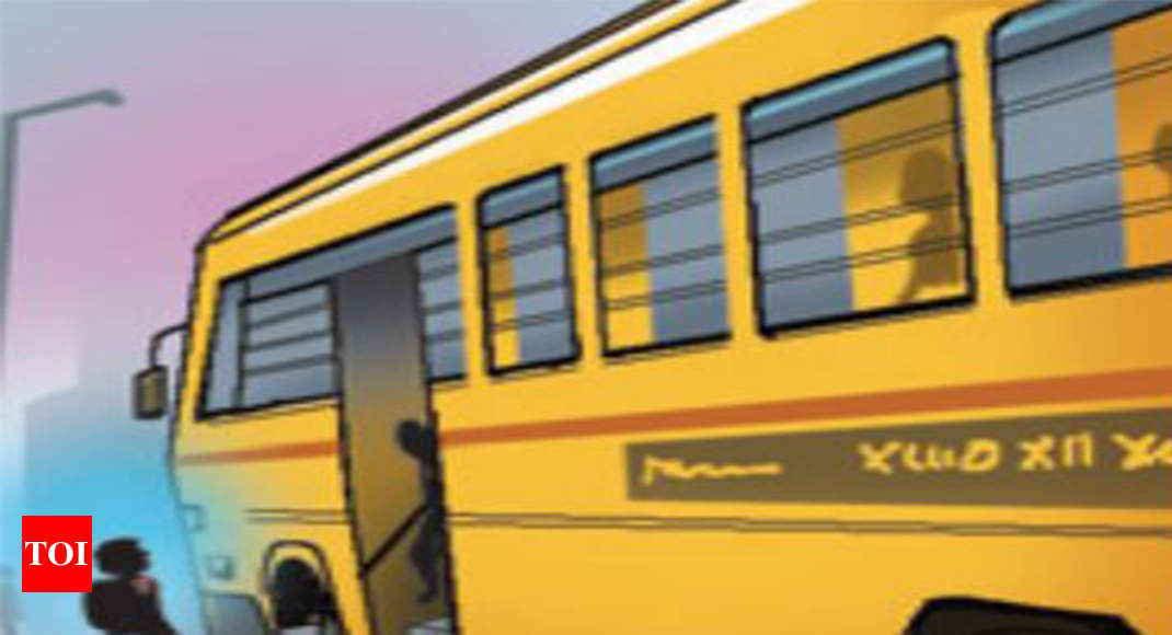 Live Gps Tracking Of School Buses In Sight Pune News Times Of India