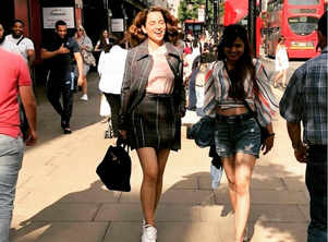 Pic: Kangana's on a shopping spree in the UK