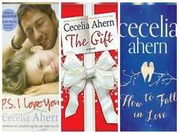 Romance novels by Cecelia Ahern to mush you up