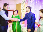 Anil Kumble, Mayank Agarwal and Aashita Sood