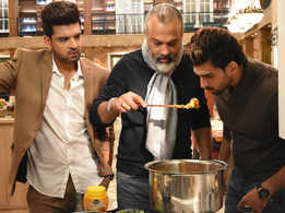 Bijay Anand cooked an appetizing meal on the set of 'Dil Hi Toh Hai'