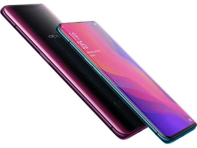 Oppo Find X with sliding camera, bezel-less design launched