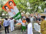 Congress workers celebrate Rahul's birthday