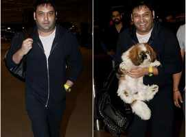 Kapil Sharma spotted at the airport