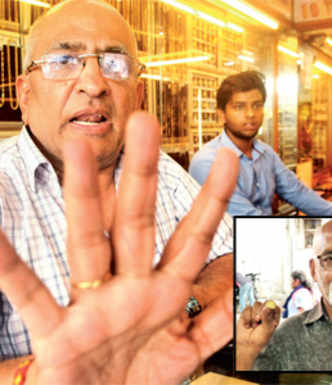 Man duped of weight and quality at jewellery store