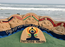 Renowned sand artist Sudarsan Pattnaik celebrates International Yoga Day!