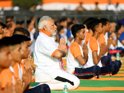 yoga day 2018: PIB's YouTube channel up and running, but misses PM's