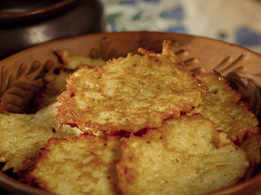Potato Meat Pancakes