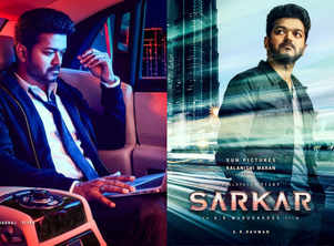 'Sarkar': 'Thalapathy' Vijay looks dapper in the latest posters
