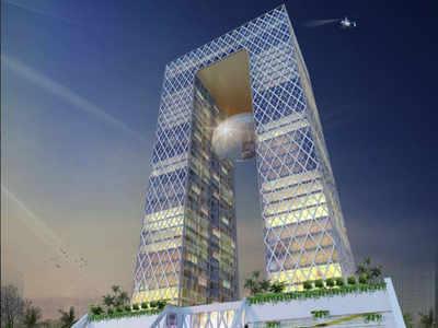 iCon-ic tower: Andhra Pradesh CM Chandrababu lays foundation