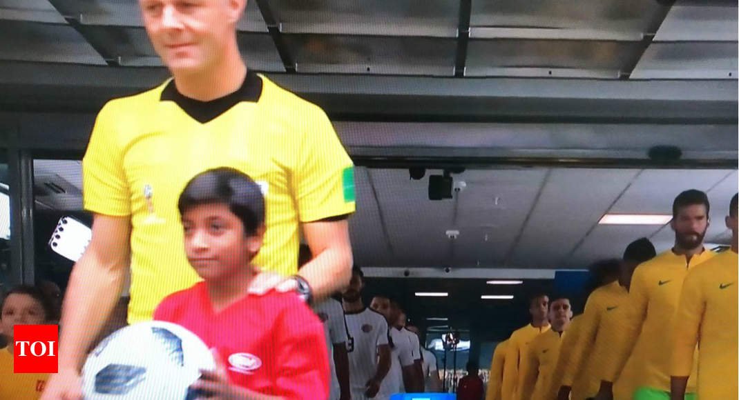 photo - Eleven-yr-faded makes historical previous as first Indian ball girl at FIFA World Cup - Cases of India