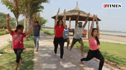 Chandigarh mixes chocolate, dance and EDM in yoga