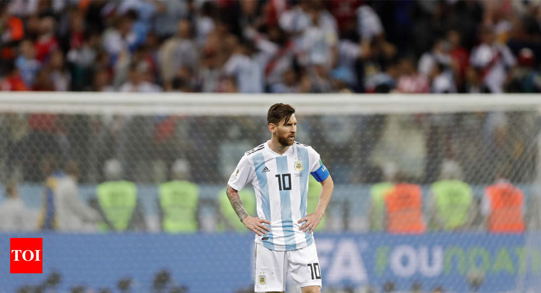 Brand 'Messi' unblemished by poor World Cup - Times of India