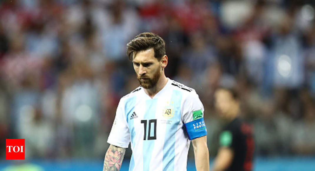 2ee7573b500 FIFA World Cup 2018: Argentina in line of fire | Football News - Times of  India