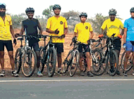 Aurangabadkars ride to Daulatabad Fort on World Cycle Day