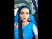 Watch: Bhojpuri actress Akshara Singh gets emotional while thanking fans for their love and support