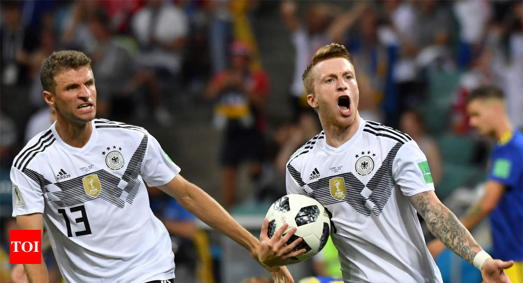 0deab17c3df FIFA World Cup 2018  Germany beat Sweden 2-1