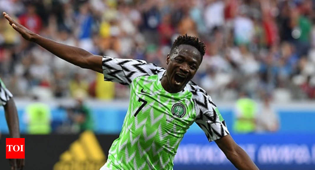 b93699f17a9 World Cup 2018: Nigeria hailed in Musa's second home | Football News -  Times of India