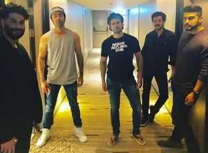 Ranbir, Varun and Arjun team up for epic pic