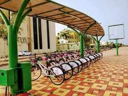 Naya Raipur gets a cycle track