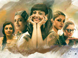 Opening and end credit songs of Prasanth Varma and Kajal Aggarwal's 'Awe' released!