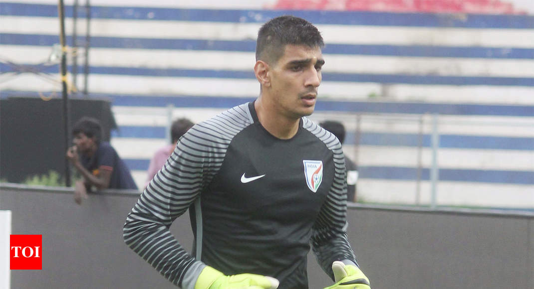 d3d30be9972 Gurpreet Singh Sandhu: Playing in Asian Cup is like playing in World Cup for  us: Gurpreet | Football News - Times of India