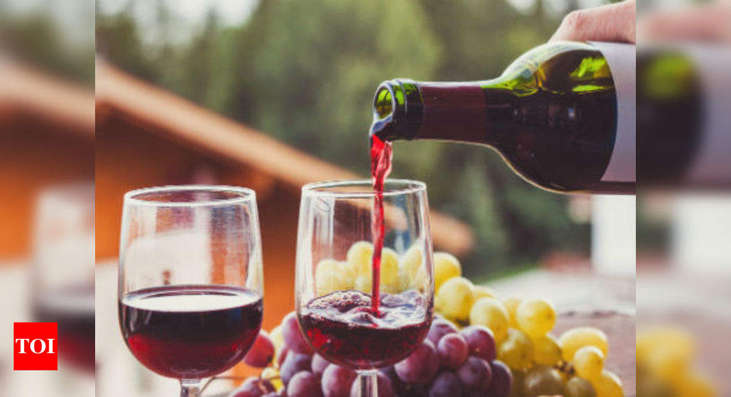 Drinking Red Wine May Help You Lose Weight Say Studies Times Of India