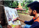 Artistes submerge in nature through their artwork