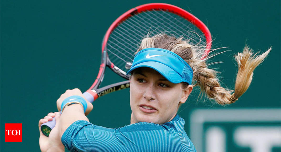Eugenie Bouchard Bouchard Wins Qualification On His Way To