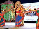 A colourful show of classical dance at Saptarang Mahotsav