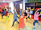 Women rock the dance floor with folk and Punjabi music