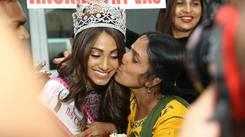Miss India 2018: Anukreethy Vas Homecoming Day 1