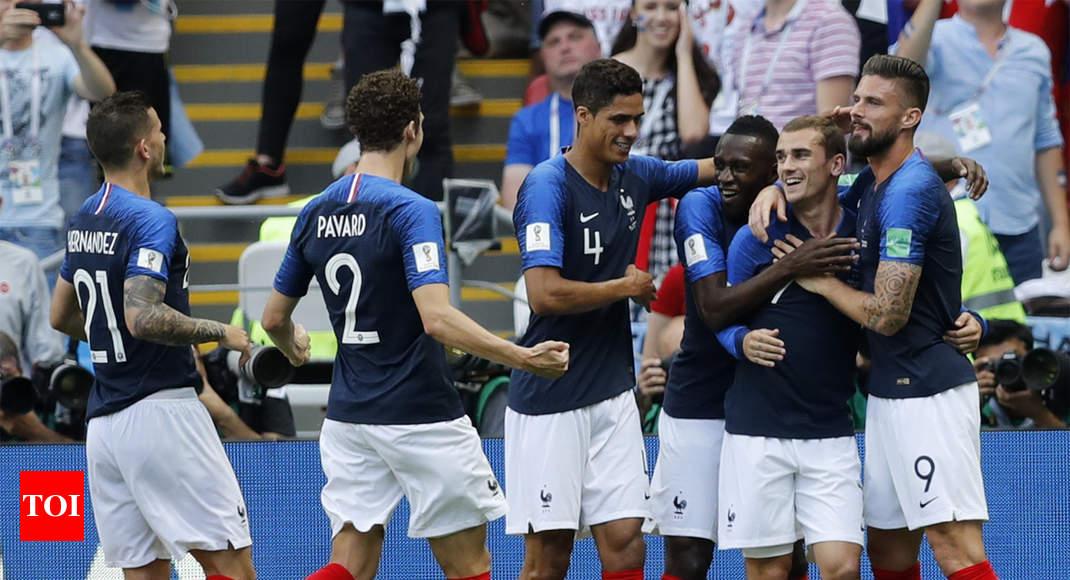 1f5c4e5dbc0f7a FIFA World Cup 2018  France beat Argentina 4-3 to enter quarter-finals