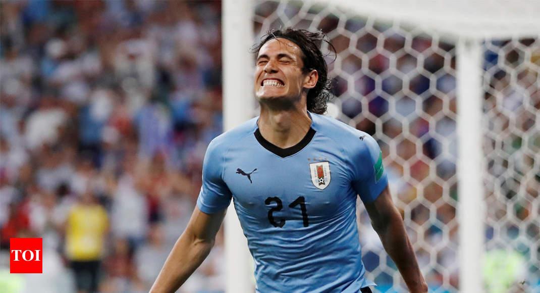 9edb99a72ca FIFA World Cup 2018  Uruguay beat Portugal 2-1 to enter quarters ...