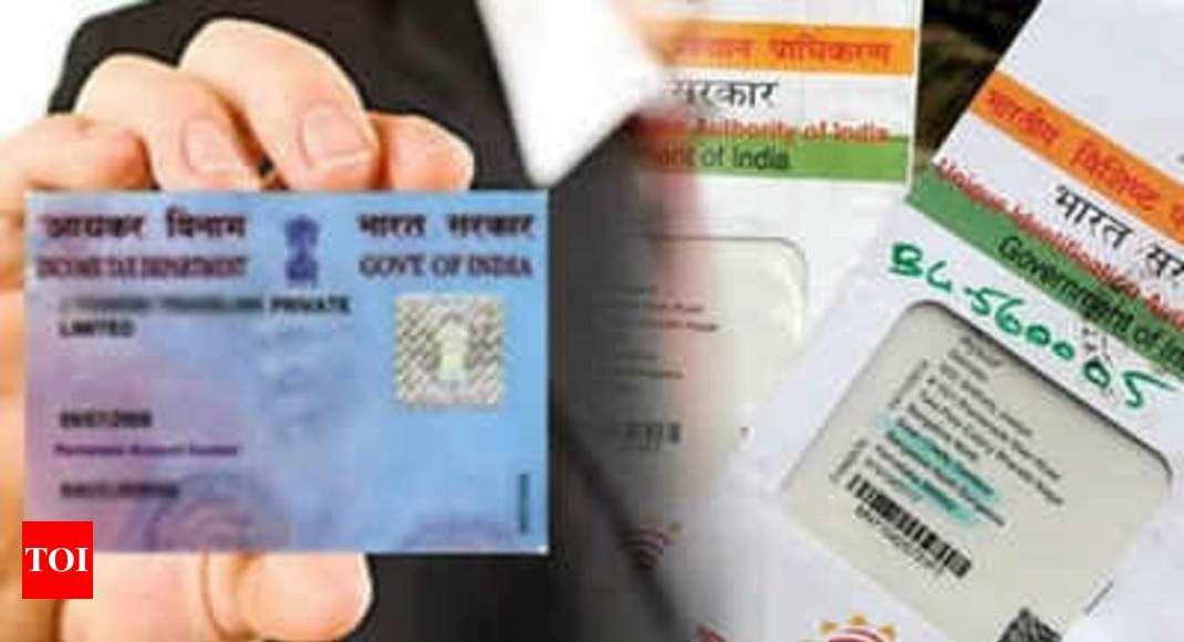 photo - PAN-Aadhaar linking closing date extended till March 2019: CBDT issue - Cases of India