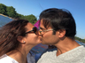 Rohit Roy and Manasi Joshi Roy locking lips is pure love