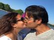 Rohit Roy and Manasi Joshi Roy locking lips is pure love