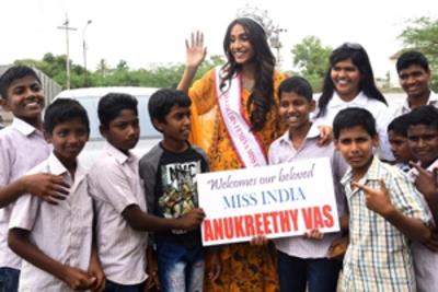 Chennai welcomes Miss India World 2018