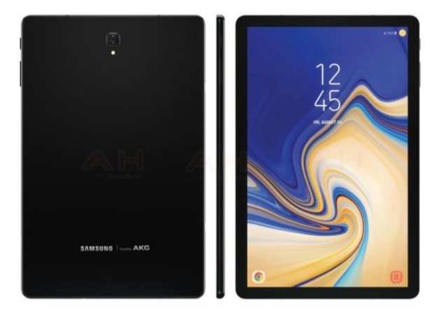 Images of Samsung Galaxy Tab S4 leaked, home button and Samsung logo missing